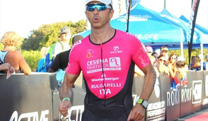 "TRIATHLON: Oro a 47 anni, Bulgarelli ""Pronto per l'Ironman a Cervia"" 