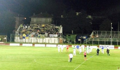 CALCIO: Bussaglia illude, Santarcangelo a picco 5-1 con la Fermana | VIDEO