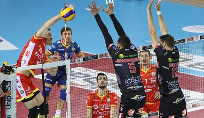 VOLLEY: Troppo forte Civitanova, Ravenna si inchina sul 3-0