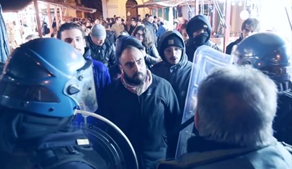 FORLI': Antifascisti in piazza, Forza Nuova su Facebook. Continuano le polemiche | VIDEO