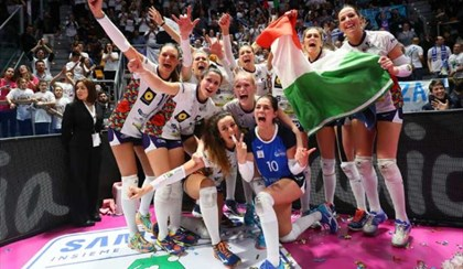 VOLLEY: Tripudio Battistelli, San Giovanni in Marignano si prende la Coppa A2