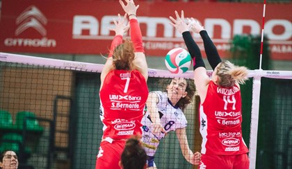 VOLLEY: Colpaccio Battistelli a Soverato, la semifinale play-off è realtà