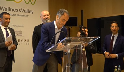 CESENA: La Wellness Valley cresce, siglato protocollo fino al 2020 | VIDEO