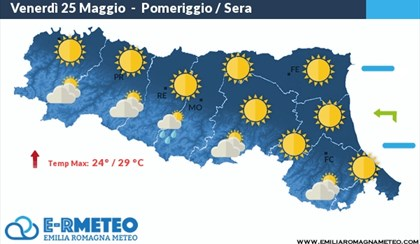 METEO: Arriva l'alta pressione con temperature estive | VIDEO