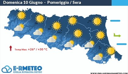 METEO: Una domenica splendida su tutta la regione | VIDEO