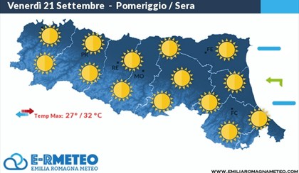 METEO: Estate piena in Emilia Romagna, fino a +31°C | VIDEO
