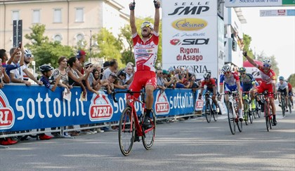 "CICLISMO: A Davide Ballerini il Memorial Pantani, ""Vado via a malincuore"" 