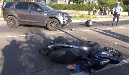 RAVENNA: Schianto in moto, grave un 59enne | VIDEO