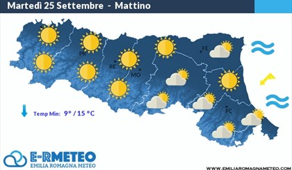METEO: Torna il sole ma temperature in crollo di 10°C | VIDEO