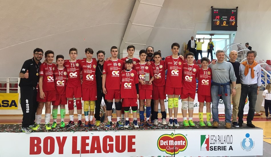 VOLLEY: Boy League, trionfa la Cmc Romagna
