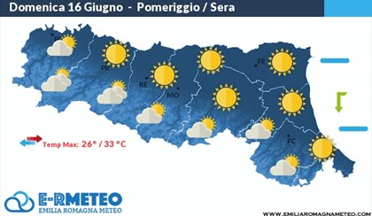 METEO: Domenica con sole e caldo in Emilia Romagna | VIDEO
