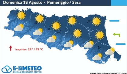 METEO: Una domenica di sole e caldo in Emilia Romagna | VIDEO