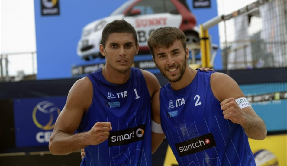 BEACH VOLLEY: Vittoria all'esordio per Caminati-Rossi all'Europeo