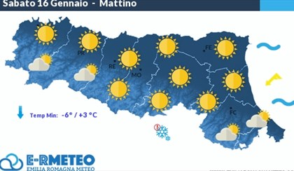 METEO: Inizio weekend con sole e gelate | VIDEO