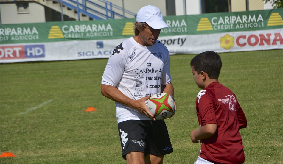 RUGBY: Ravenna, grande successo per il Diego Dominguez Rugby Camp