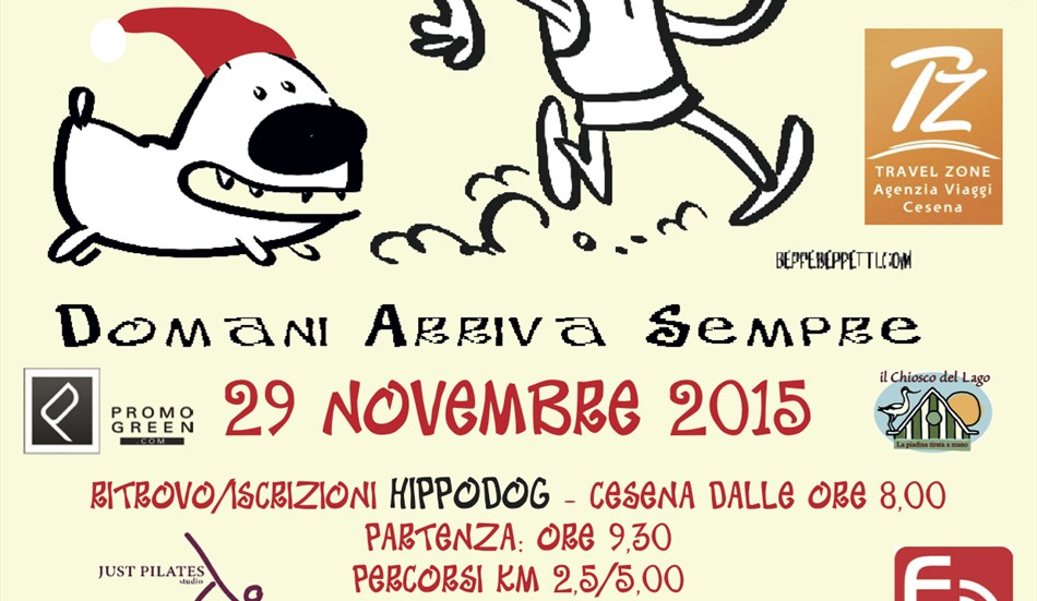 PODISMO: 'Run your dog' a Cesena